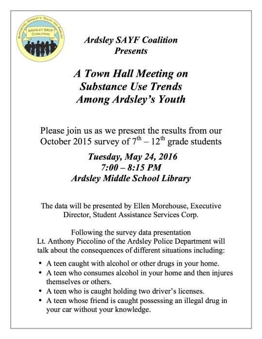May 24th Town Hall Meeting