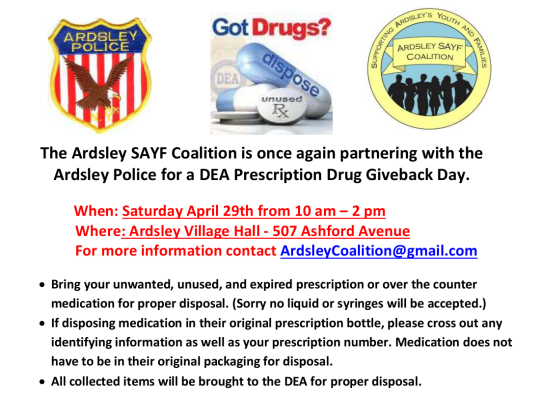 drug take back day 42917