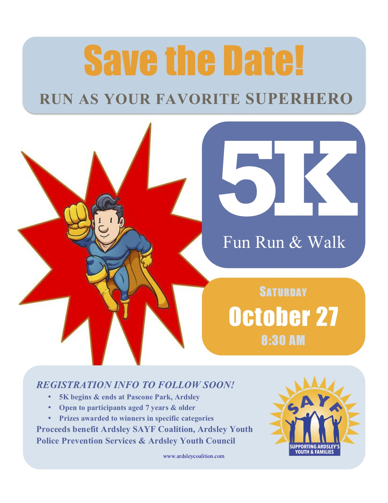 2018 Oct 5K Save the Date revised TD