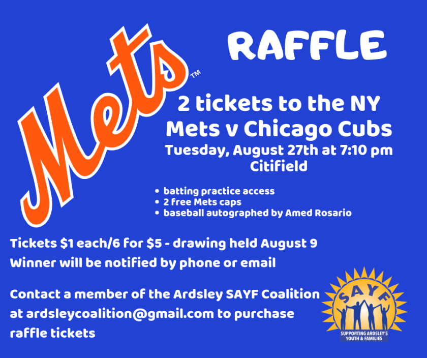 2 tickets to the NY Mets v Chicago Cubs Tuesday, August 27th at 7_10 pm Citifield Batting practice access 2 free Mets caps baseball autographed by Amed Rosario-6