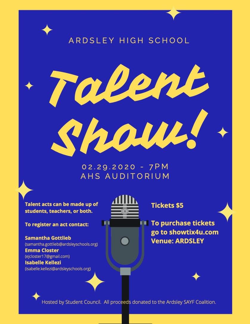 Talent show Final